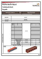 Technical sheet mulot perforated 11